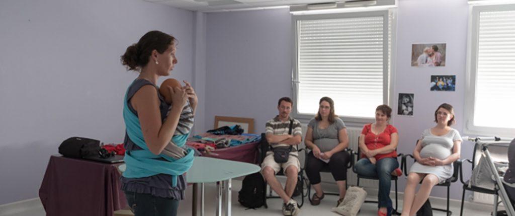 «Bébé arrive» … des ateliers  d'information aux futurs parents